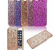 hochwertigen glänzenden Design-Muster ultradünnen funkeln Touch PC harte rückseitige Abdeckung für iphone 6s / 6 (verschiedene Farben)
