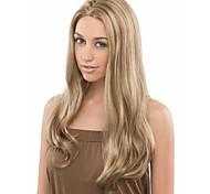 sellling quente loira onda perucas de cabelo sintético extensões belo estilo e preço mais baixo
