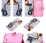 2016 venta caliente de cuero de la PU caso de la cubierta del teléfono móvil con la función del soporte para una variedad de colores