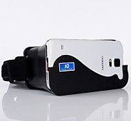 Google Cardboard Head Mount Plastic Version 3D VR Virtual Reality Video Glasses for iPhone6/6plus/Android Phone 4.7-5.5
