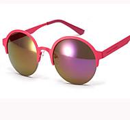 Sunglasses Women's Retro/Vintage / Modern / Fashion Round White / Gold / Red / Blue / Green Sunglasses Full-Rim