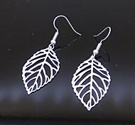 Earring Leaf Drop Earrings Jewelry Daily / Casual Alloy 1set