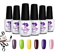 Sexy Mix Soak-off UV Gel Nail Polish Color Gel Nail Varnish Manicure Set