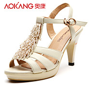 Aokang Women's Leather Sandals