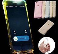 LED Lights Flash for Incoming Calls  Popular Brands Material TPU Phone Case for iPhone 6/6S(Assorted Colors)