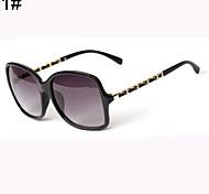 Sunglasses Women's Retro/Vintage / Modern / Fashion Oversized Black / Brown / Leopard Sunglasses Full-Rim