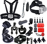 Accessory Kit Ultimate Combo Kit 25 Accessories for Gopro Hero4,hero3+,gopro Hero3 Cameras