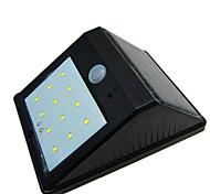 alta calidad solar 12 LED impermeable lámpara patio humana lámpara de la inducción del cuerpo / lámpara de pared / jardín luz