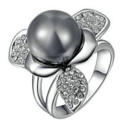 Imitation Pearl Ring Fascinators Party / Daily / Casual / Sports 1pc