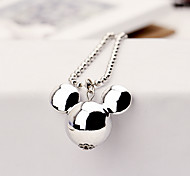European Style Fashion Decorative Cute Mouse Necklace