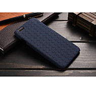 New Style PU Tartan Brand Turf Mobile phone Case for iPhone 6S/iPhone Assorted Color