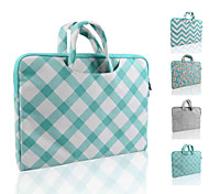 Smith Sursee ® Carry Laptop Sleeve Canvas Fabric 13-13.3 Inch (Briefcase Green oblique grid)