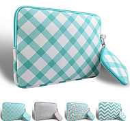 Smith Sursee ® Carry Laptop Sleeve Canvas Fabric 13-13.3 MacBook Pro (Green oblique grid)