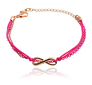 Korean Infinity Chain And Rope  Anklet