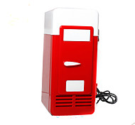 Mini USB Fridge  Cooler/Warmer Refrigerator Creative Gifts Toys