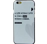 coração alta qualidade e bom estojo rígido padrão de preço para iphone 6 / 6s