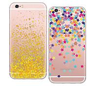 maycari®bits y piezas de caso TPU transparente suave para iphone 6 6s / iphone (colores surtidos)