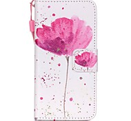 The New Poppies Lanyard PU Leather Material Flip Card Cell Phone for iPod Touch 5/6