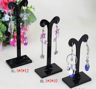 Jewelry Displays Acrylic Black