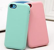 il nuovo piselli intelligenti materiale in silicone verde all inclusive caso telefono touch per iphone 5c (colori assortiti)