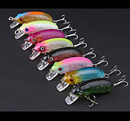 Anmuka Minnow Crank 9.8g 6cm 8pcs  Sea Fishing / Boat Fishing / General Fishing
