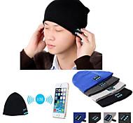 chapéu gorro quente sem fio Bluetooth tampa inteligente mic alto-falante fone de ouvido fone de ouvido para celular iphone Sumsung