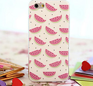 Pink Watermelon Environmental TPU Material Phone Case Phone Case for iPhone 6/6S