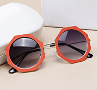 Sunglasses Men / Women / Unisex's Retro/Vintage / Modern / Fashion Round Black / Coffee / Orange / Blue Sunglasses Full-Rim
