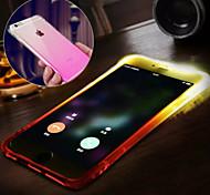 Новый водонепроницаемый мигающий называет многофункциональный постепенное изменение ТПУ материал для iphone 6plus / 6с плюс (ассорти