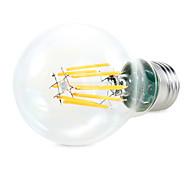 8W E26/E27 Bombillas LED de Globo A60(A19) 8 COB 1450 lm Blanco Cálido / Blanco Natural Decorativa AC 100-240 / AC 110-130 V 1 pieza