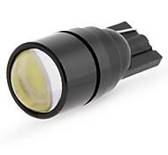 2 x T10 1W High Power White COB LED Side Wedge Light Lamp Bulb DC 12V