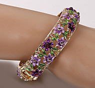 European  fashion painting paints million flowers bracelet (color random) Tennis Bracelets Wedding /Casual 1pc