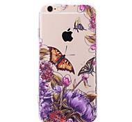 Retro Schmetterlingsblumenkästen für iphone 5 / 5s (verschiedene Farben)