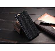 novo estilo pu tecer caso do telefone móvel para 6s iphone / iphone 6 cores sortidas