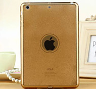 New Multicolor Glitter High Quality Translucent TPU Soft Shell for iPad Air/iPad 5(Assorted Colors)