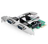 shengwei® pec-2011 PCI-E para 2 RS232 placa porta uso MOSCHIP mcs9922 para win98 / ME / XP / Server2003 / Vista / 7/8/10