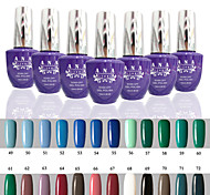 1 pcs ana 192 couleurs nail art gelpolish ongles en gel uv tremper hors de 15ml 49-72