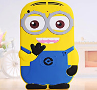Yellow People Silicon Soft Case for iPad mini 3, iPad mini 2, iPad mini