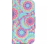 Decorative Pattern Painted PU Phone Case for ipod touch5/6