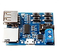 TF-Karte U Festplatte MP3-Format Decoder Board-Modul-Verstärker decodiert Audio-Player