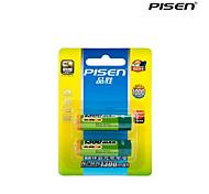 Pisen 1300mah batterie rechargeable AA Ni-MH 1.2v une paire pour la télécommande (2 pcs)