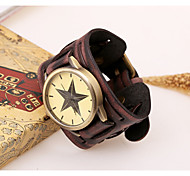 Men's Vintage Leather Watch Cool Watch Unique Watch