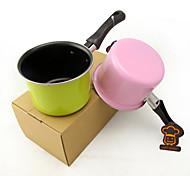 Mini Dazzle Colour Milk Pan 11 Cm Titanium Practical Non-Stick Soup Pot Pan