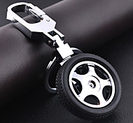 Car Wheel Shape DIY Keychain for Men & Women