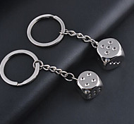 A Pair of Dice Keychain for Couple Lover