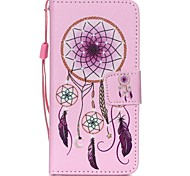 The New Campanula Lanyard PU Leather Material Flip Card Cell Phone for iPod Touch 5/6