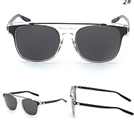 Sunglasses Men / Women / Unisex's Modern / Fashion Browline Silver / Gold Sunglasses Full-Rim