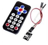 hx1838 infravermelho código do módulo de controle remoto controle remoto infravermelho para arduino