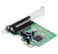 Shengwei® PEC-2021 PCI-E to DB25 Port Board MosChip MCS9901 Use for Printer WIN98/Me/XP/Server2003/Vista/7/8/10