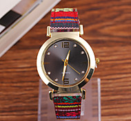 Ladies Watch The New Folk Style Retro Series PU Quartz Watch Watchband Lady Fashion Ladies Fashion Watch